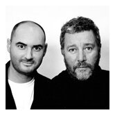 Philippe Starck with Eugeni Quitlle