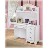 "Lydia 46.06""W Writing Desk with Optional Hutch"