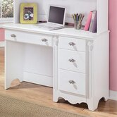 Lydia 46.06&quot; W Children's Desk with Keyboard Tray