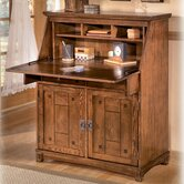 Cross Island Drop Front Secretary Desk