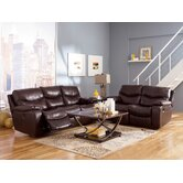 Tim Leather Reclining Living Room Collection