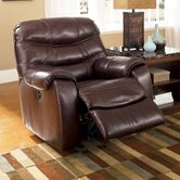 Fernley Leather Chaise Recliner