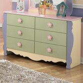 Harper Youth 6-Drawer Dresser