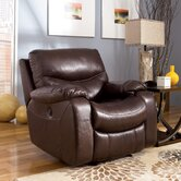 Zackary Leather Chaise Recliner