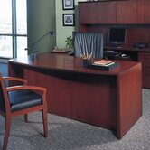 Corsica 66&quot; Bowfront Office Desk
