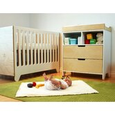 Hiya Three Piece Convertible Crib Set