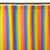 Colorful Rainbow Print Shower Curtain