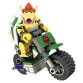 Nintendo Bowser and Standard Bike Building Set
