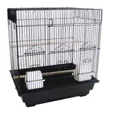 3/8&quot; Bar Spacing Square Top Small Bird Cage