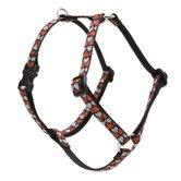"Love Struck 1/2"" Adjustable Small Dog Roman Harness"