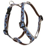 "Muddy Paws 3/4"" Adjustable Medium Dog Roman Harness"