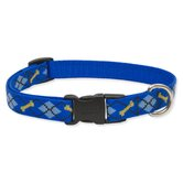 "Dapper Dog 3/4"" Adjustable Medium Dog Collar"