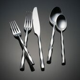 Cable 5 Piece Flatware Set