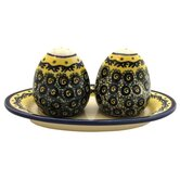 Salt and Pepper Shaker Set- Pattern DU1