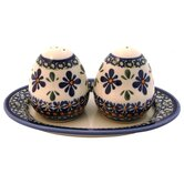Salt and Pepper Shaker Set- Pattern DU60