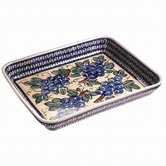 "13"" Rectangular Baking Pan - Pattern DU8"