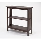 Console Bookcase in Chestnut