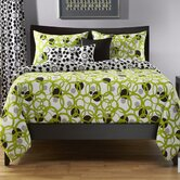 Full Circle Green Duvet Set