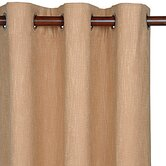 Mondrian Canyon Haberdash Curtain Panel in Cinnamon