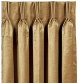 Toulon Rod Pocket Lucerne Curtain Single Panel