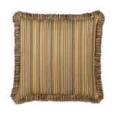 Kiawah Currituck Shell Brush Fringe Decorative Pillow
