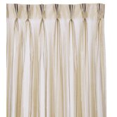 Ambiance Trevira Three-Finger Pleated Curtain Single Panel