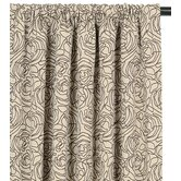 Tracery Cotton Curtain Panel