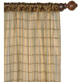 Vaughan Veneta Cotton Embroidered Sheer Rod Pocket Curtain Panel