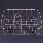 WireCraft 16.25&quot; x 19.25&quot; Rinsing Basket in Stainless Steel