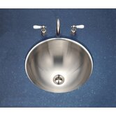Club Conical Undermount Bathroom Sink in Satin