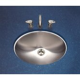 Club Undermount Oval Bathroom Sink in Satin
