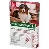 Flea Treatment for Dogs 21-55 lbs (4 Pack)