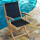 Riviera Folding Dining Armchair