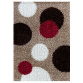 Malaidori Beige/Red Rug
