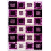 Signature Purple Shag Rug