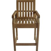 St. Tropez Teak Bar Chair