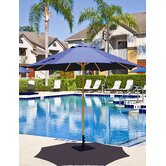 9' Commercial Wood Market Umbrella