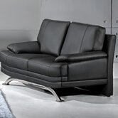 Phoenix Leather Reclining Loveseat