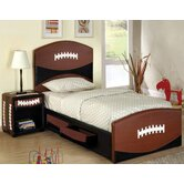 Sports Fun Football Panel Bedroom Collection