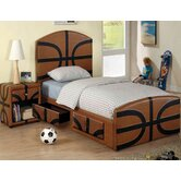 Sports Fun Basketball Panel Bedroom Collection