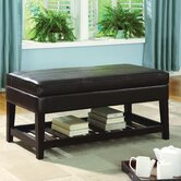 Berlyn Leatherette Bench