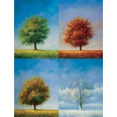 "Color and Season Oil Painting on Canvas Art - 48"" x 36"""