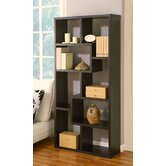 Masima Unique Bookcase / Display Cabinet in Black