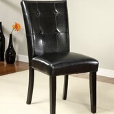 Parker Tufted Back Parsons Chair (Set of 2)