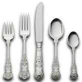 Queens 65 Piece Flatware Set with Pie Server