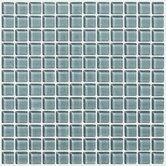 "Glass Essentials 12"" x 12"" Squares Accent Tile in Waterline"