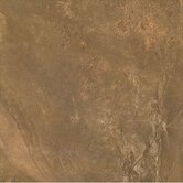 African Slate 13&quot; Porcelain Tile  in Rust