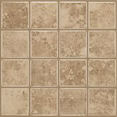 Colonnade 3&quot; x 3&quot; Ceramic Floor Tile in Coffee