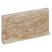 "Ridgestone 6"" x 12"" Cove Base Tile in Beige"