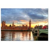 1000 Piece High Definition Sunset on River Thames Puzzle